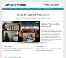 walmart vision and eye care in oswego website history