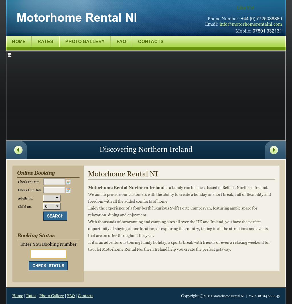 72e872f787 Motorhome Rental Ni Competitors