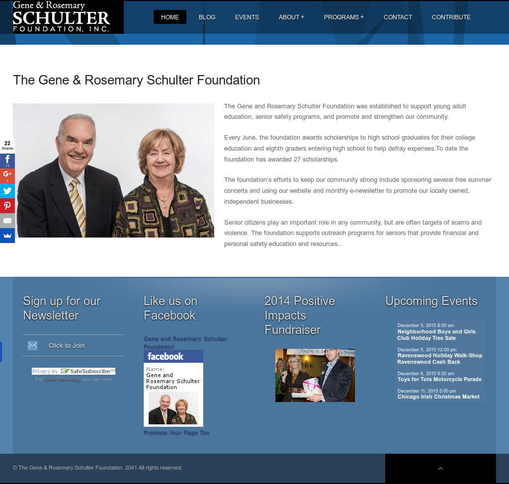 The Gene & Rosemary Schulter Foundation Competitors, Revenue and ...