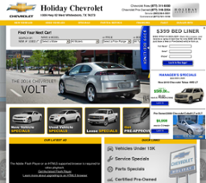 Holiday Chevrolet Whitesboro Texas >> Holiday Chevrolet Competitors Revenue And Employees Owler Company