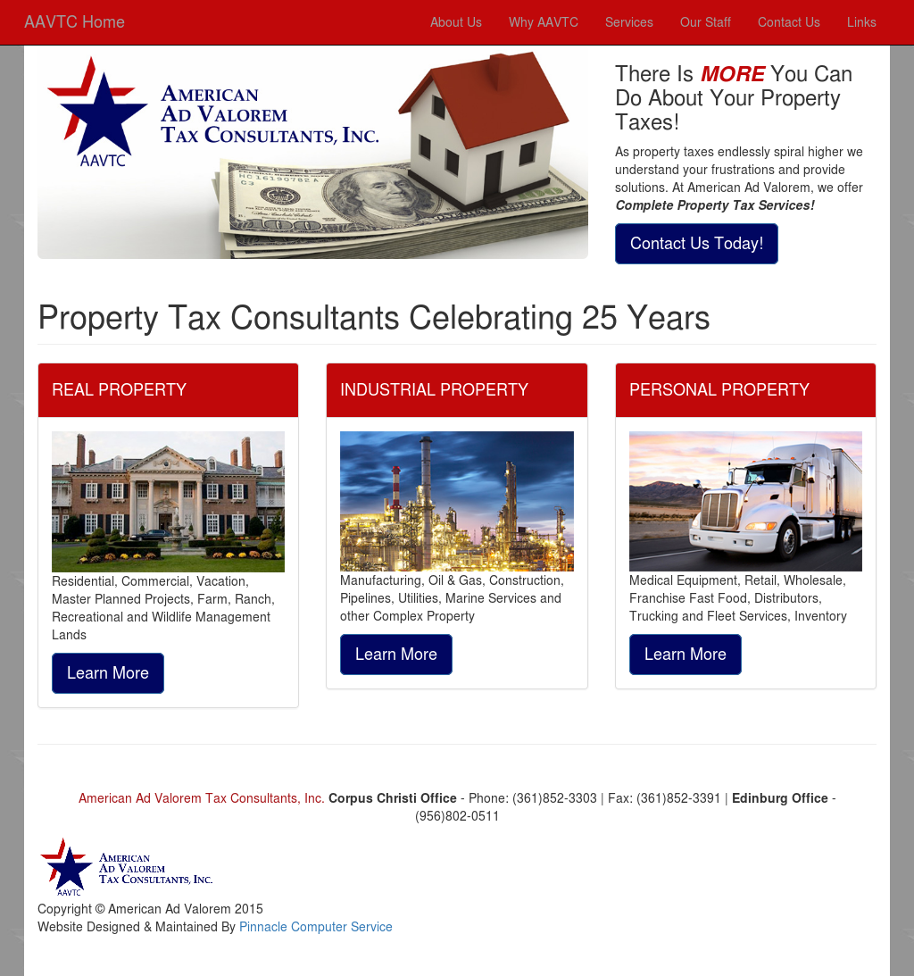 American Ad Valorem Tax Consultants Competitors, Revenue and