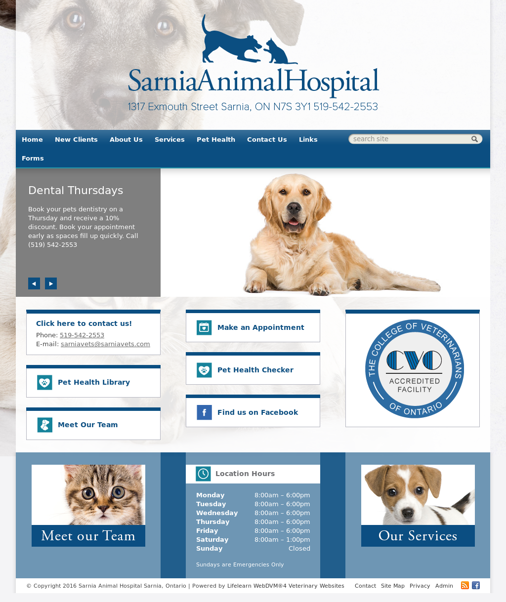 Sarnia Animal Hospital Competitors, Revenue and Employees - Owler ...