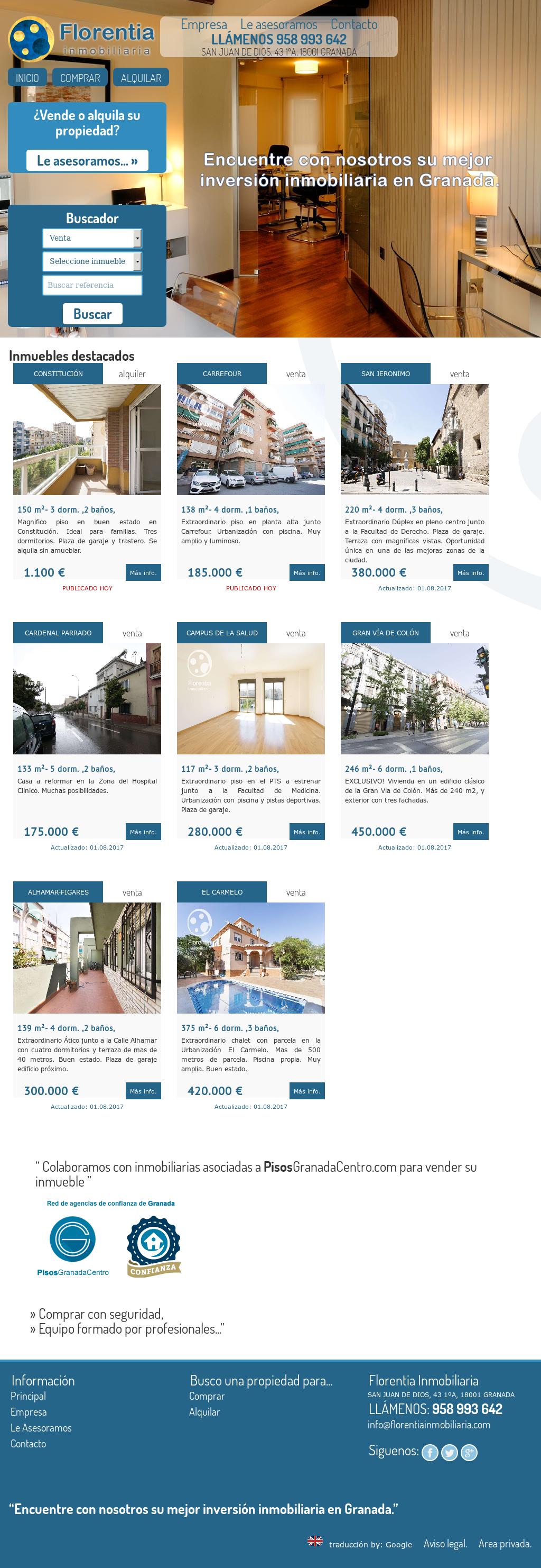 Florentia Inmobiliaria Competitors Revenue And Employees