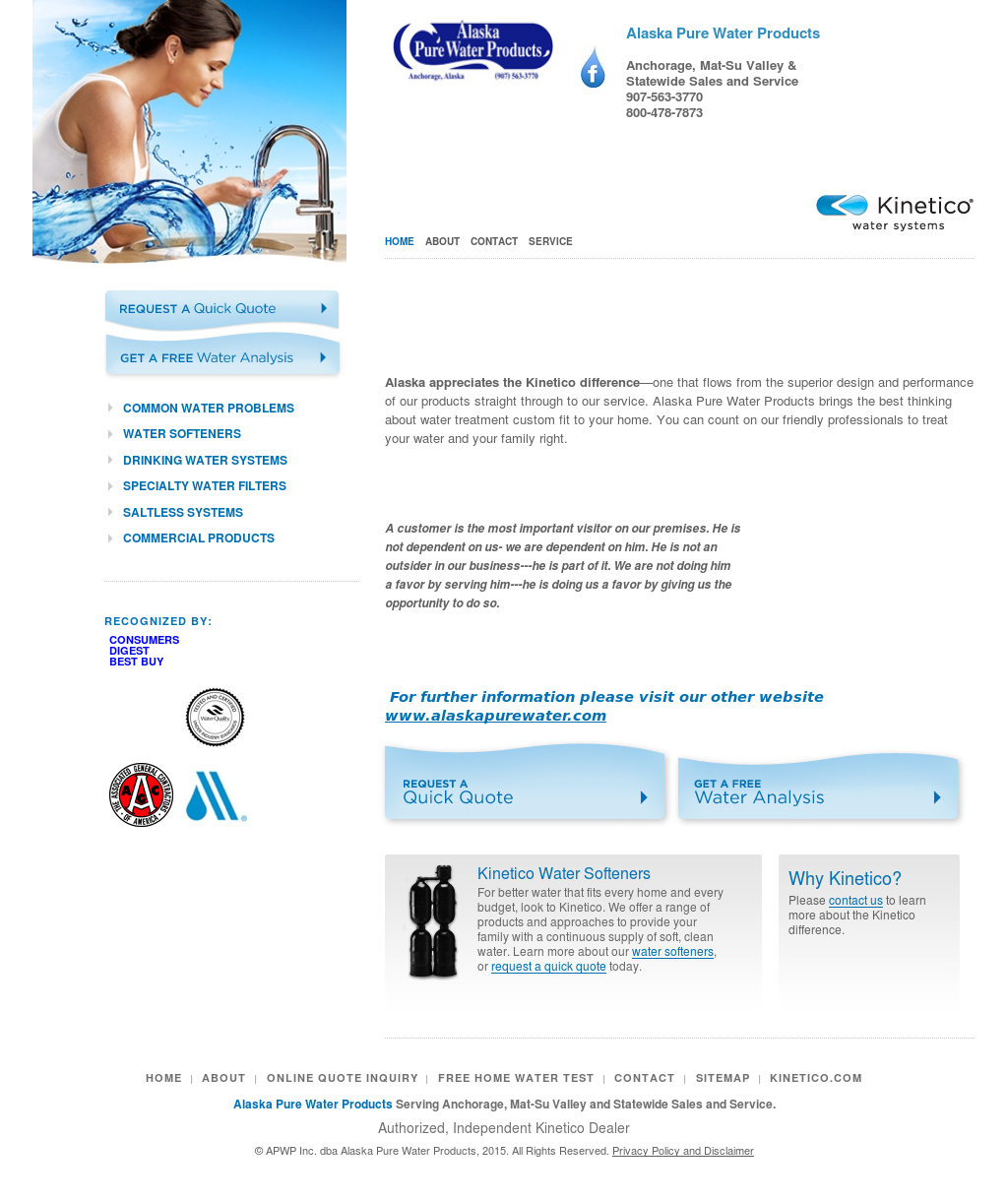 Apwp Inc Dba Alaska Pure Water Products Compeors Revenue And Employees Owler Company Profile