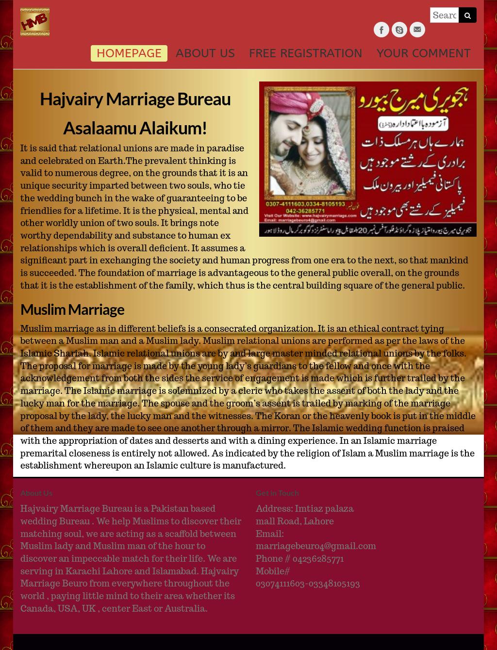 Hajvairymarriagebeuro Competitors, Revenue and Employees