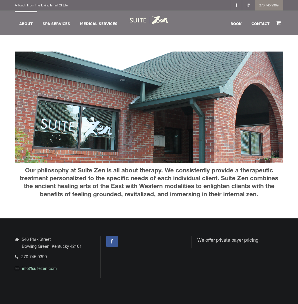 Suite Zen Therapeutic Spa Competitors, Revenue and Employees