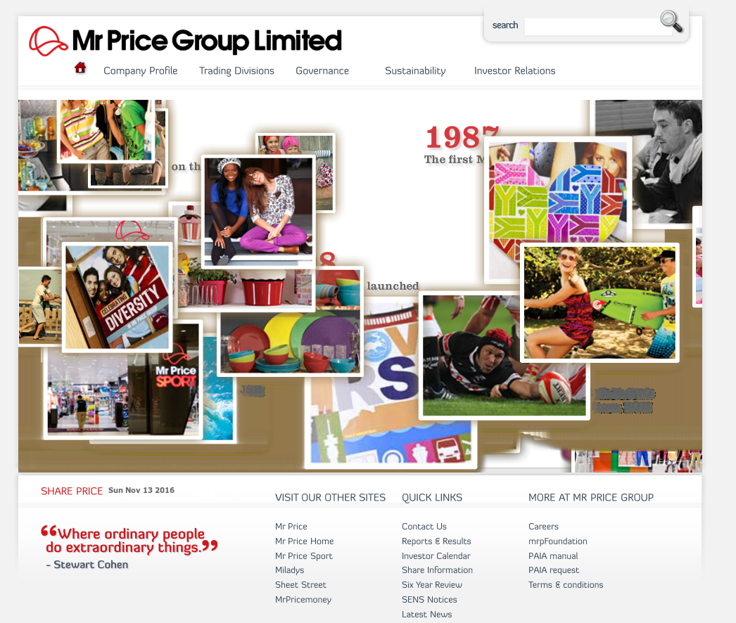 Mr Price Group Competitors, Revenue and Employees - Owler Company