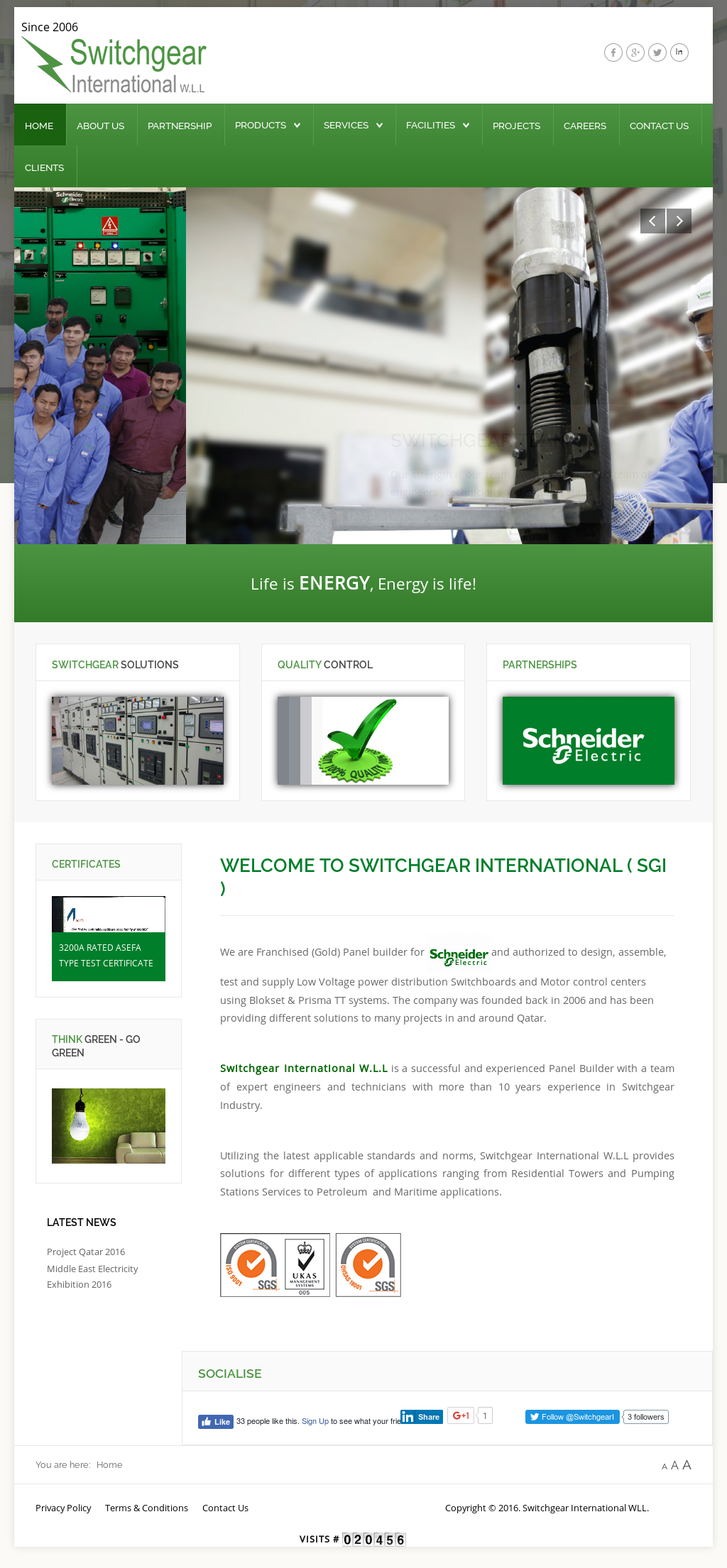 For Switchgear International Wll Competitors, Revenue and