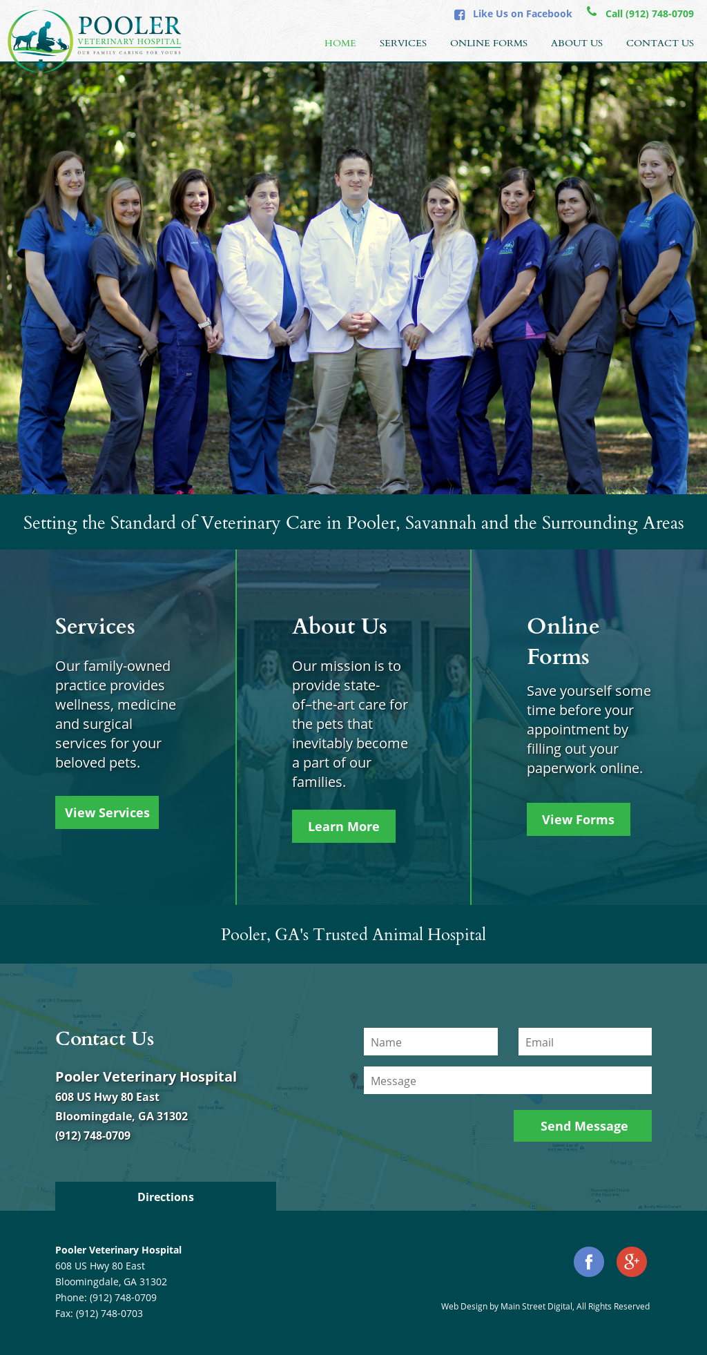Pooler Veterinary Hospital Competitors, Revenue and