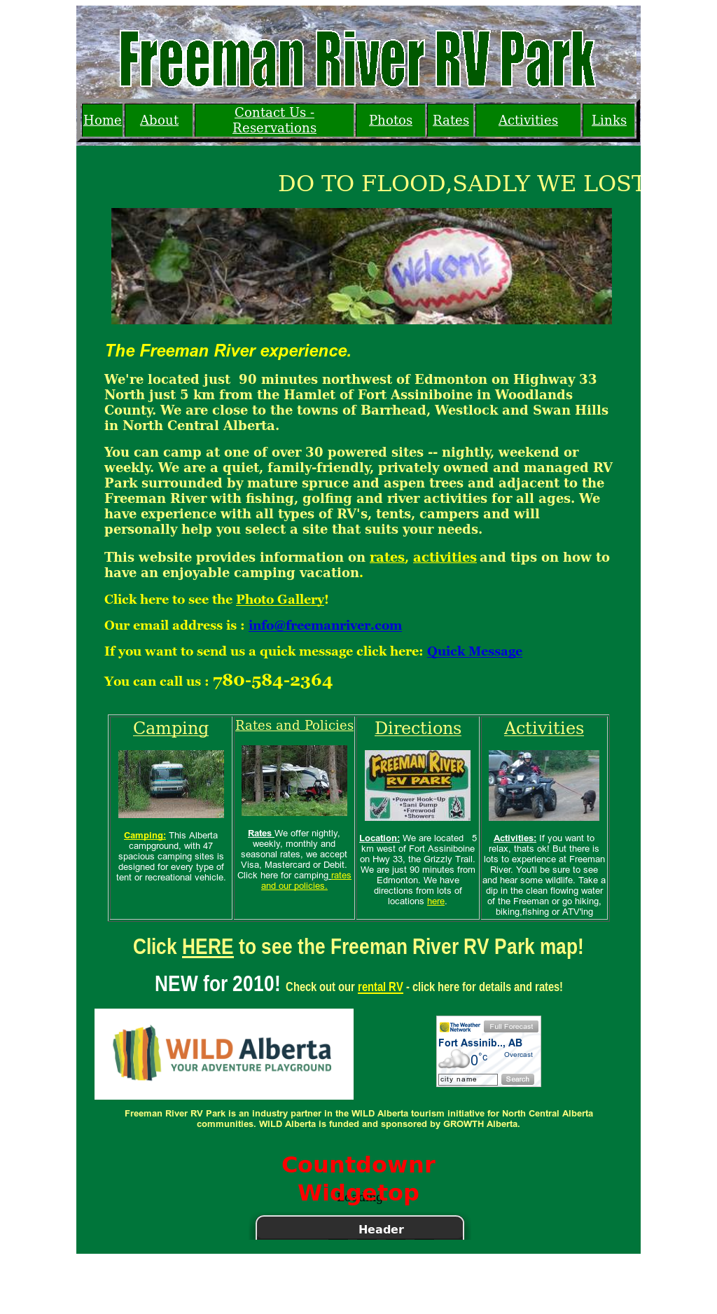 Freeman River RV Park Competitors, Revenue and Employees