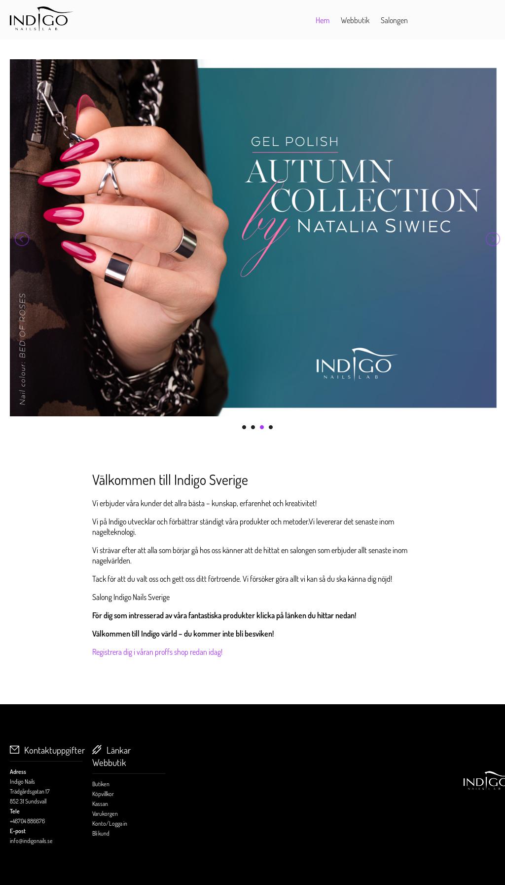 indigo nails sundsvall