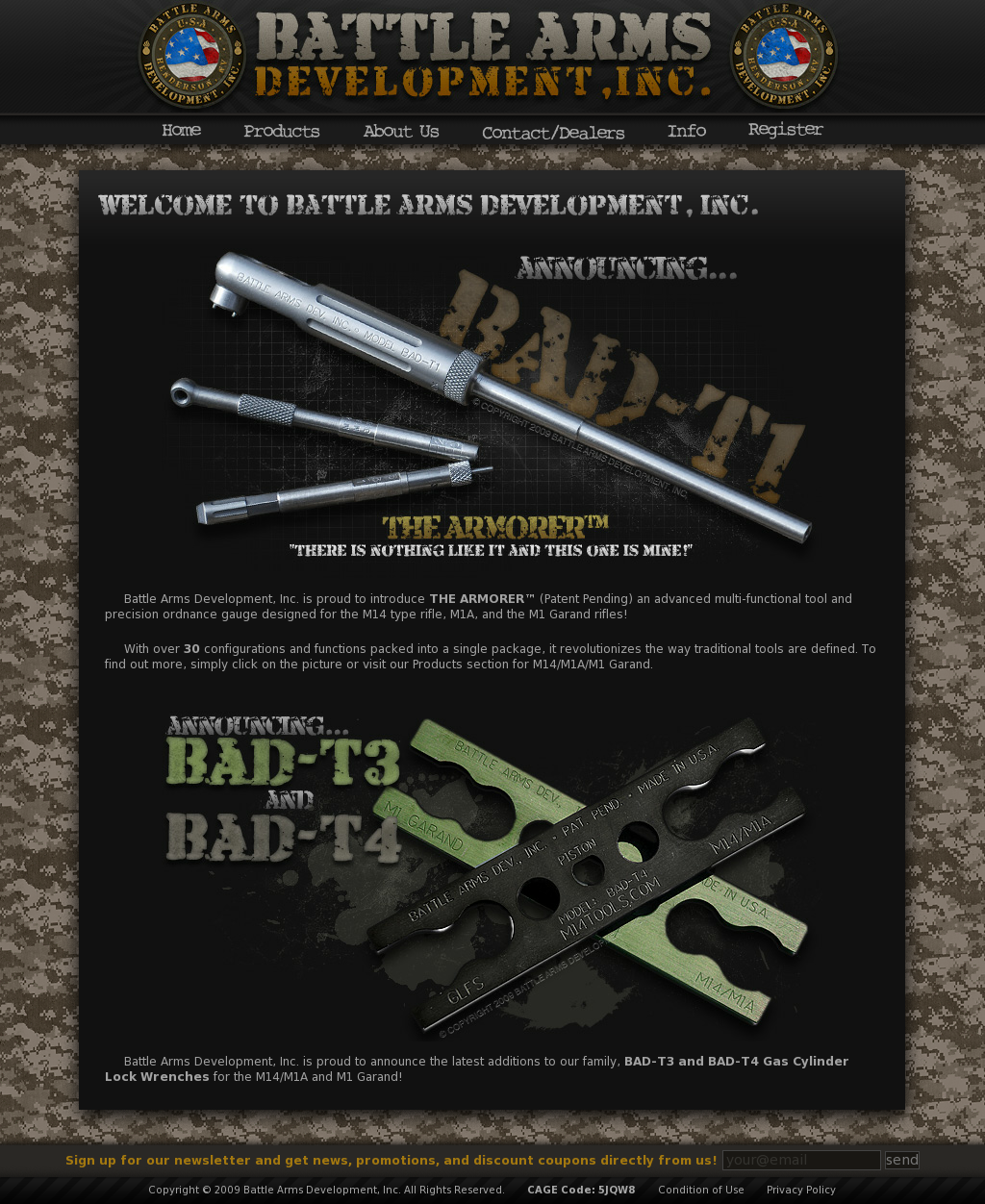 Battle Arms Development Competitors, Revenue and Employees