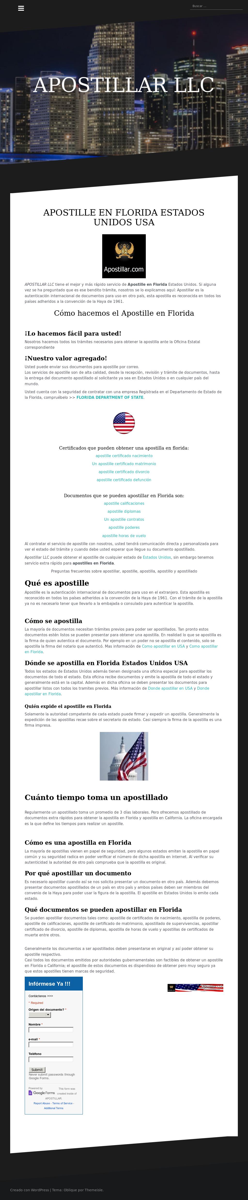 Apostillar Usa Florida Competitors, Revenue and Employees - Owler ...
