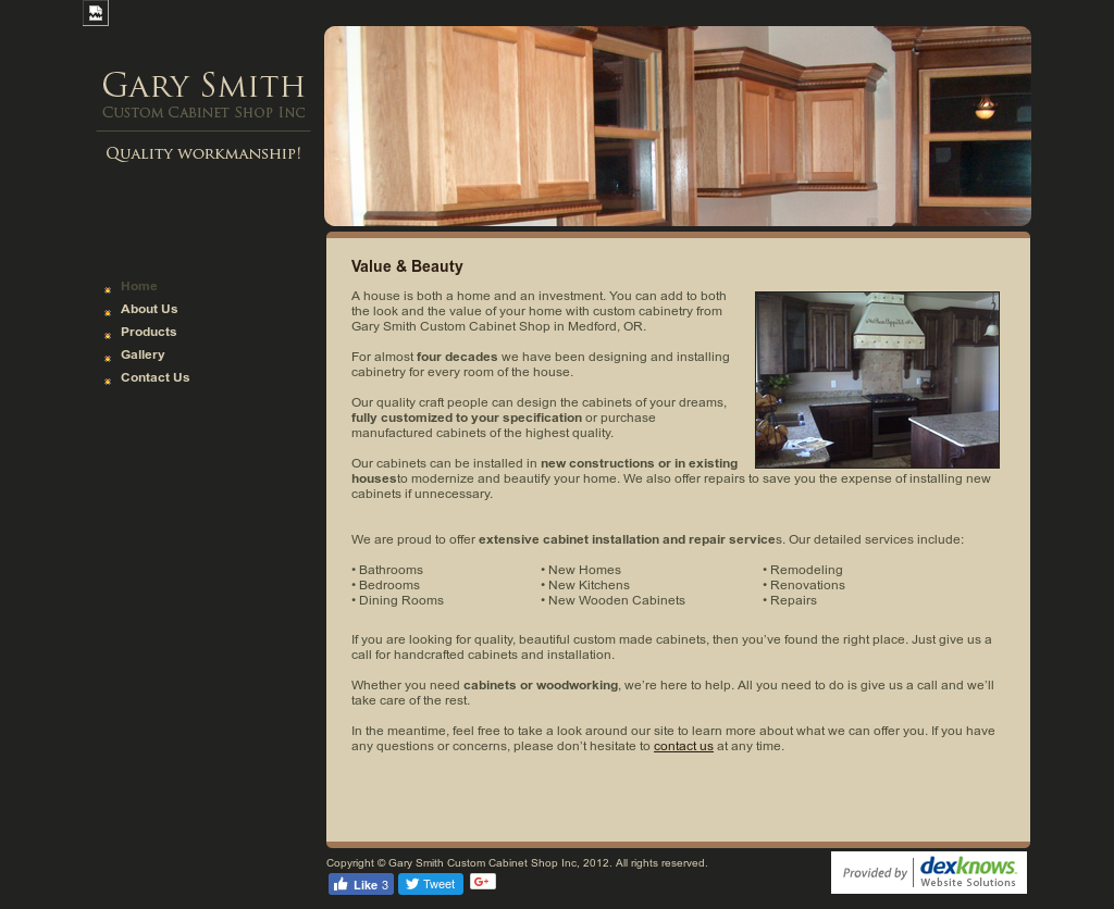 Gary Smith Custom Cabinet Shop Competitors Revenue And Employees