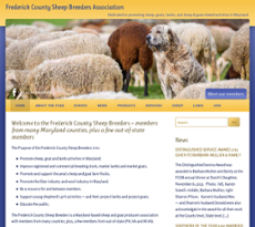 Frederick County Sheep Breeders Association Competitors, Revenue and