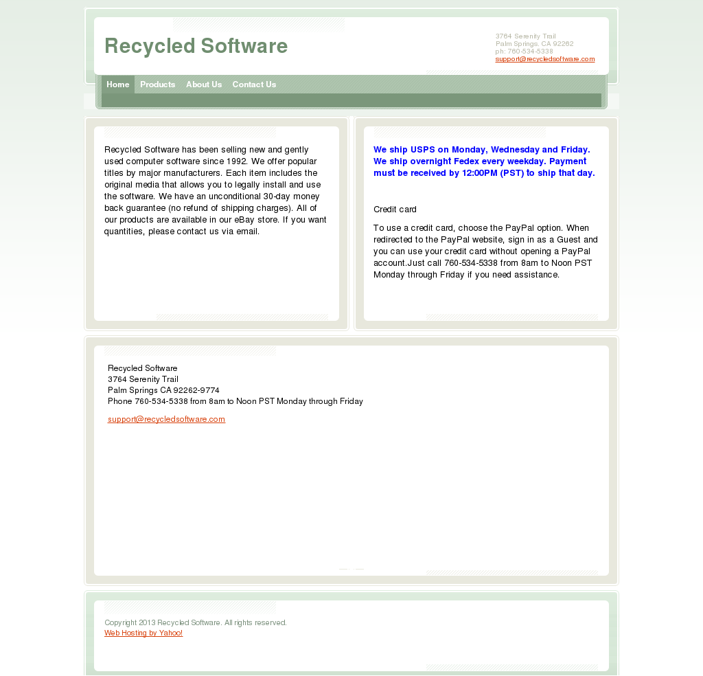 Recycled Software Competitors, Revenue and Employees - Owler