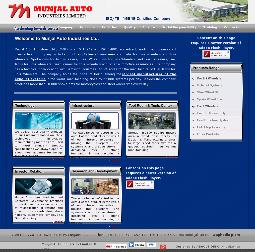 munjal auto industries competitors revenue and employees owler