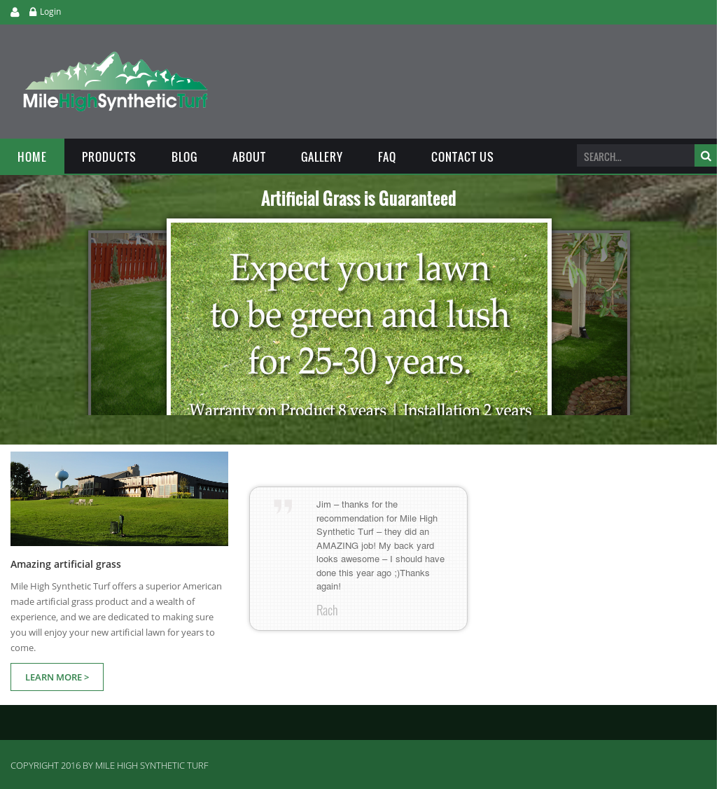 Mile High Synthetic Turf Compeors Revenue And Employees Owler Company Profile