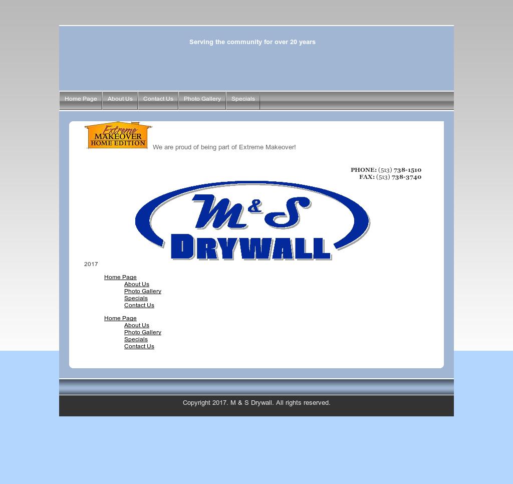 M&s drywall