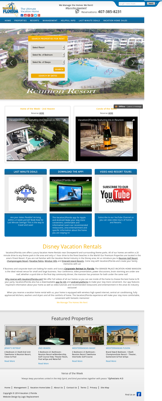 Vacation2florida - Disney Vacation Rentals And Orlando Property