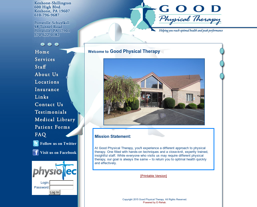good physical therapy competitors revenue and employees owler