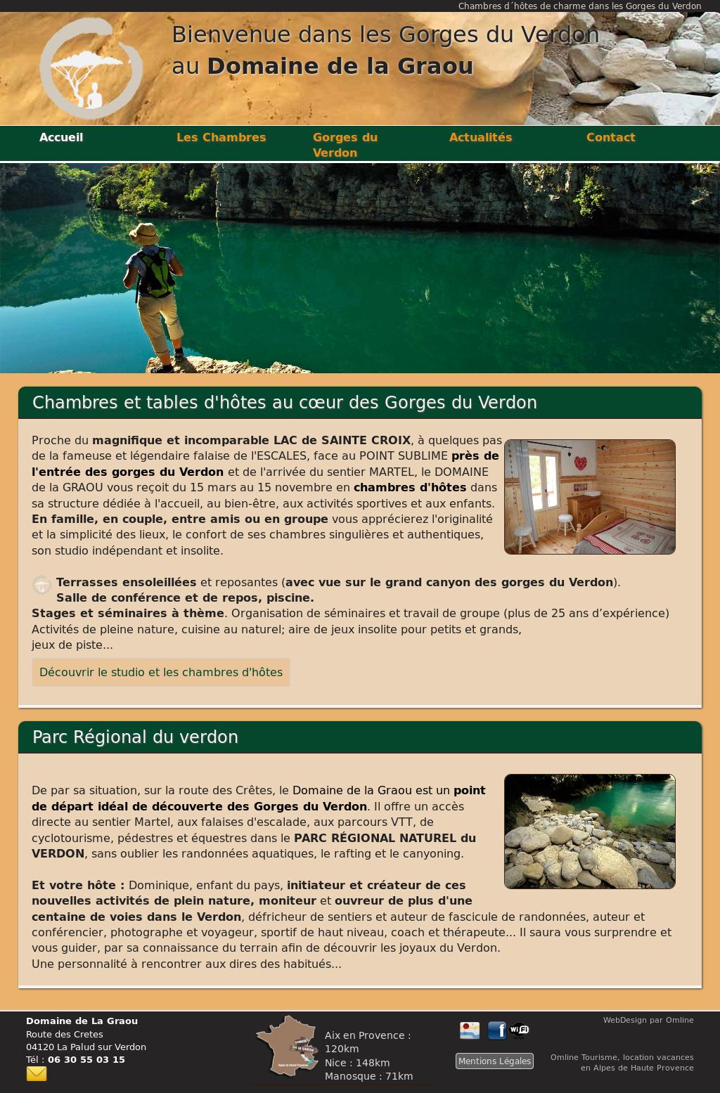 Business Plan Salle D Escalade domaine de la graou, verdon competitors, revenue and