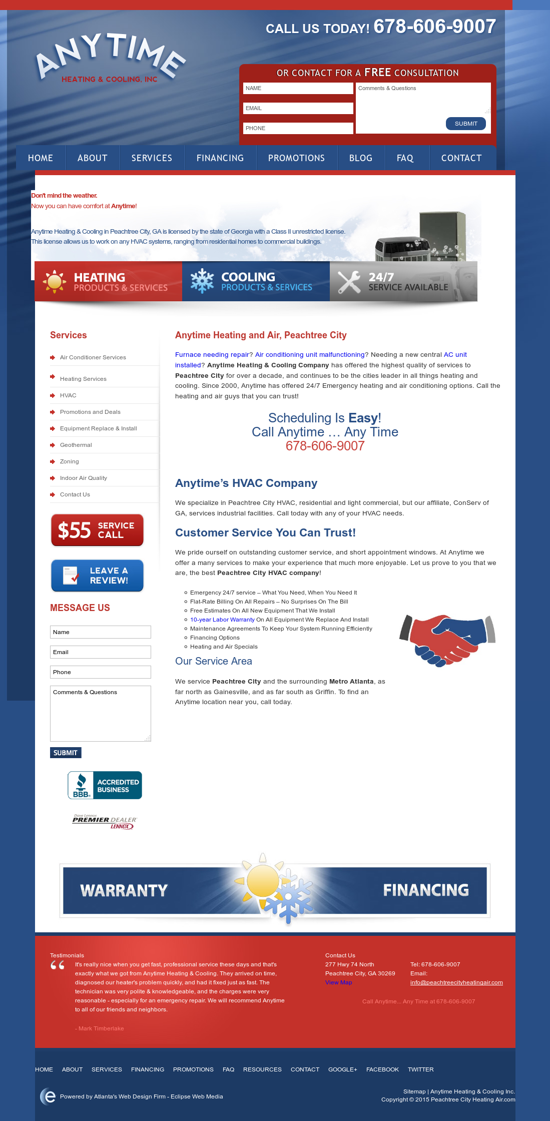 Peachtree City Heating And Air Compeors Revenue Employees Owler Company Profile