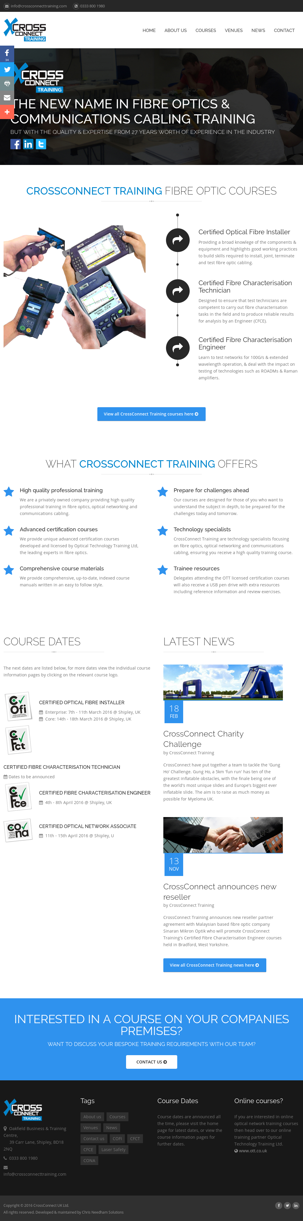 Crossconnecttraining Competitors Revenue And Employees Owler