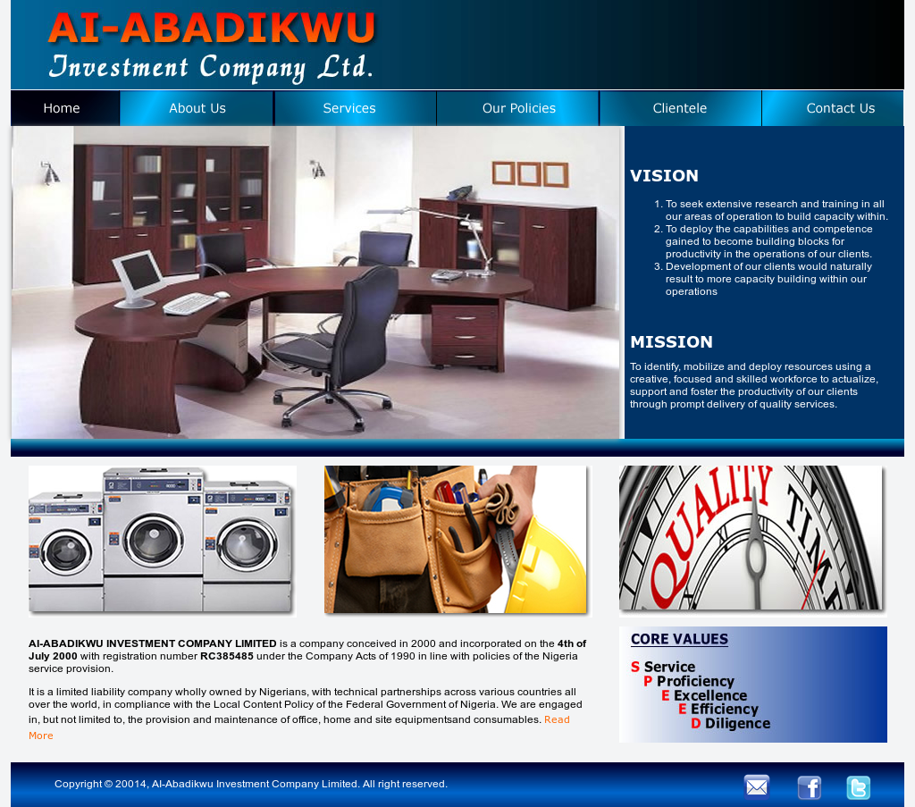 Ai-abadikwu Investment Company Competitors, Revenue and