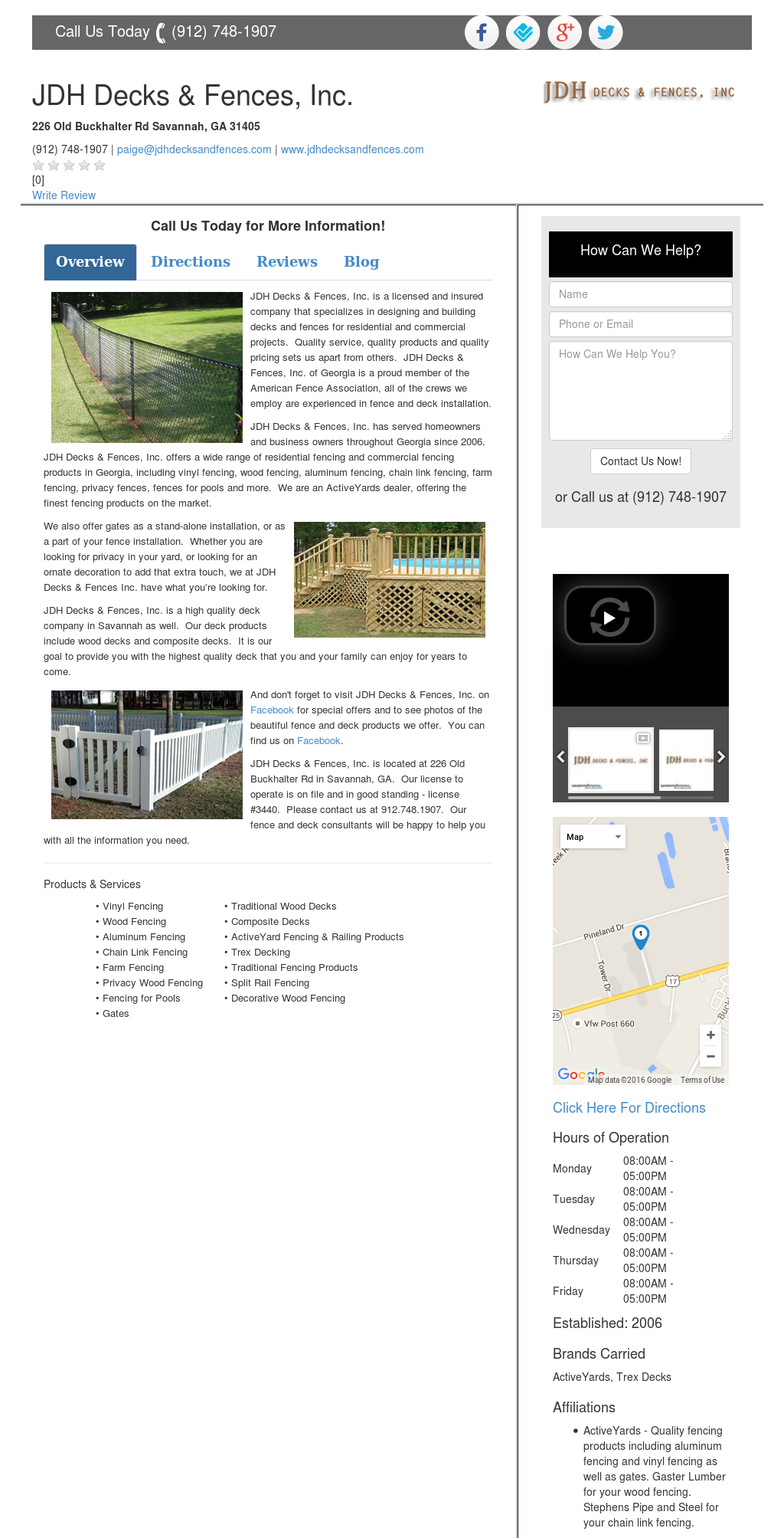 Jdh Decks Fences Compeors Revenue And Employees Owler Company Profile