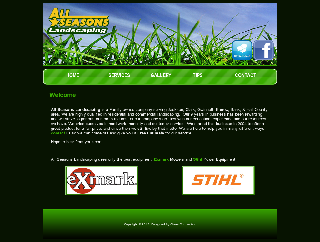 All Season Landscaping website history - All Season Landscaping Competitors, Revenue And Employees - Owler