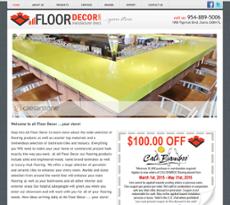 All Floor Decor Website History