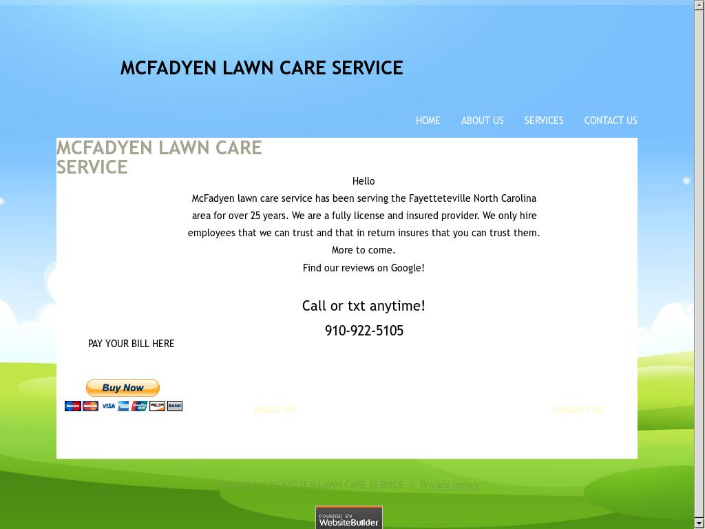 Mcfadyen Lawn Care Services Competitors, Revenue and