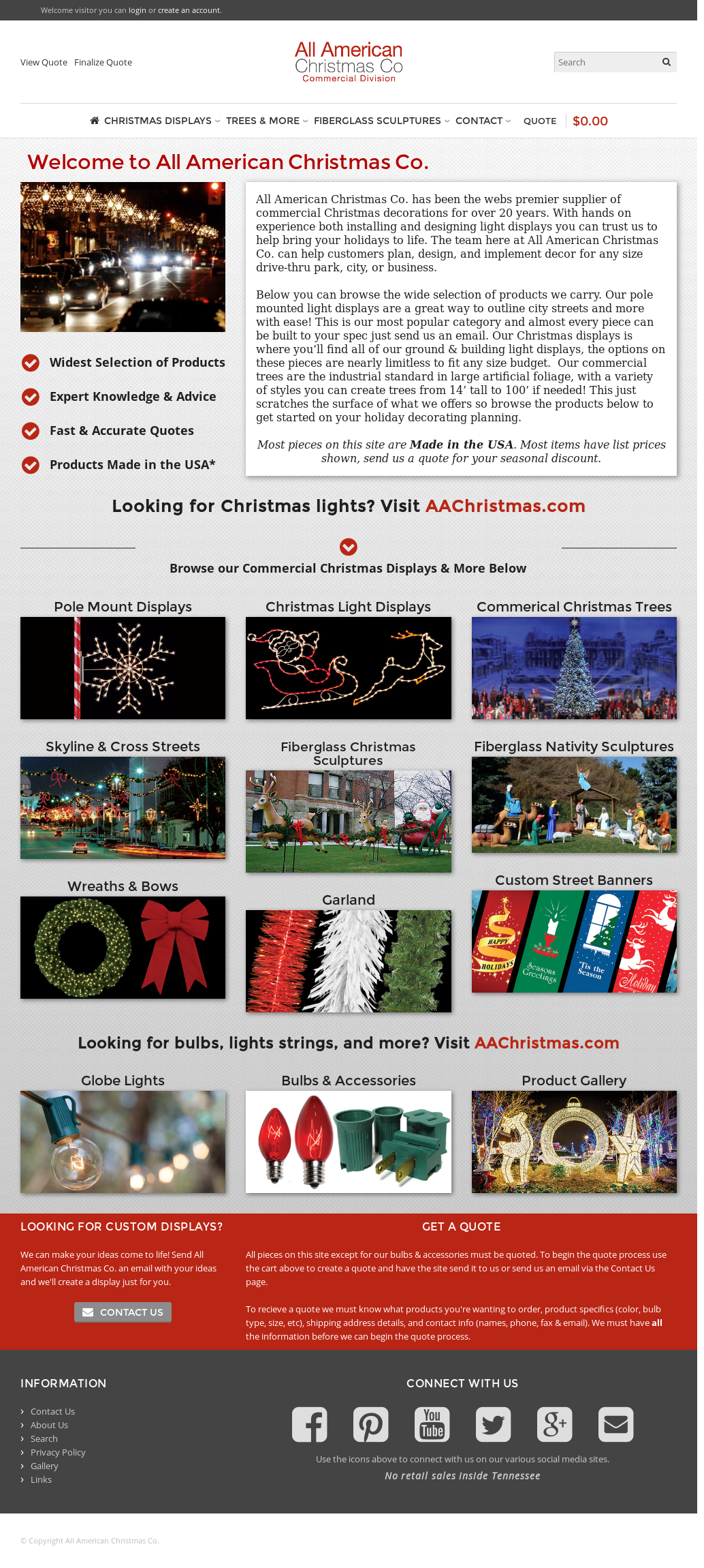 All american christmas competitors revenue and employees owler company profile png 1034x2300 All american christmas
