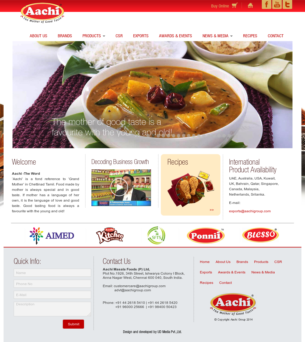 Aachi Masala Foods Competitors, Revenue and Employees - Owler