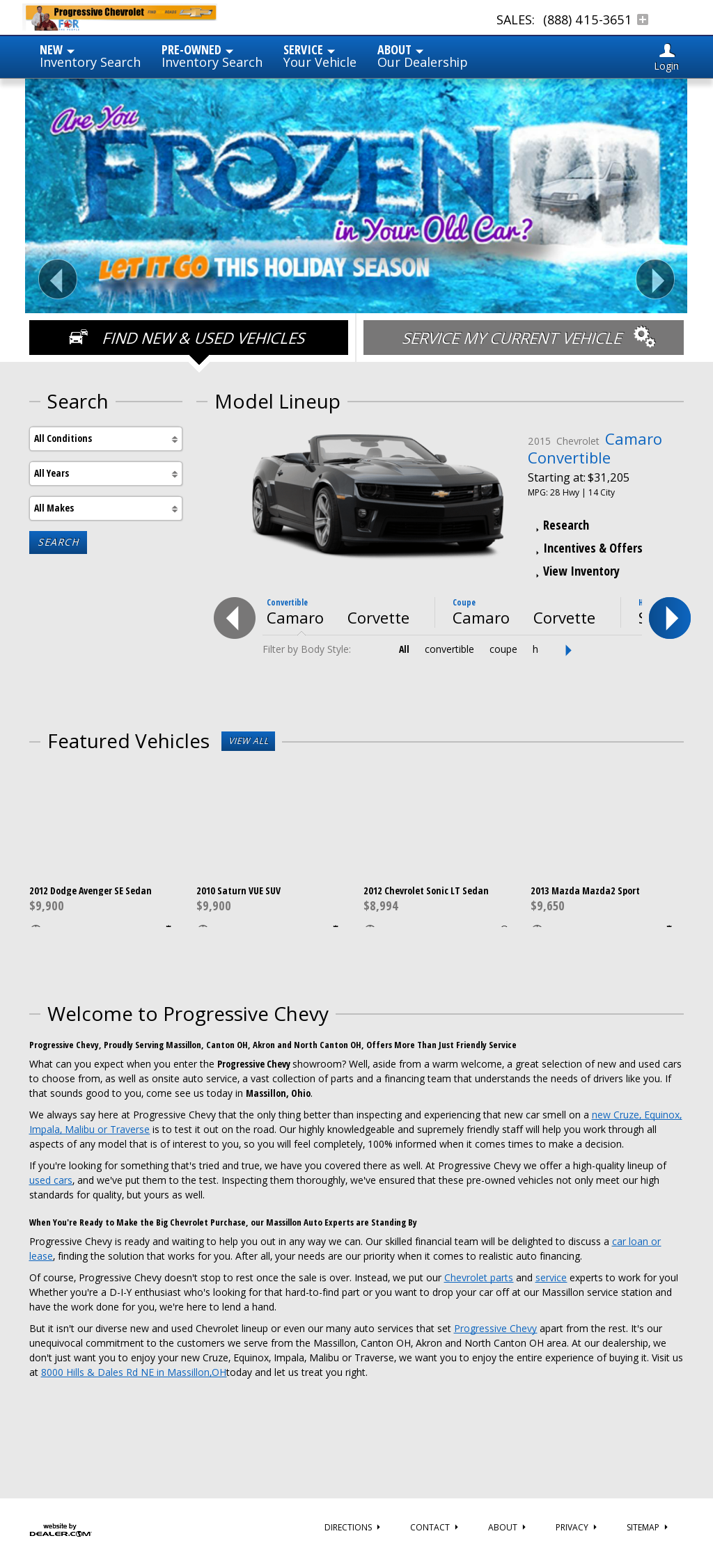 Progressive Chevrolet Competitors, Revenue And Employees   Owler Company  Profile
