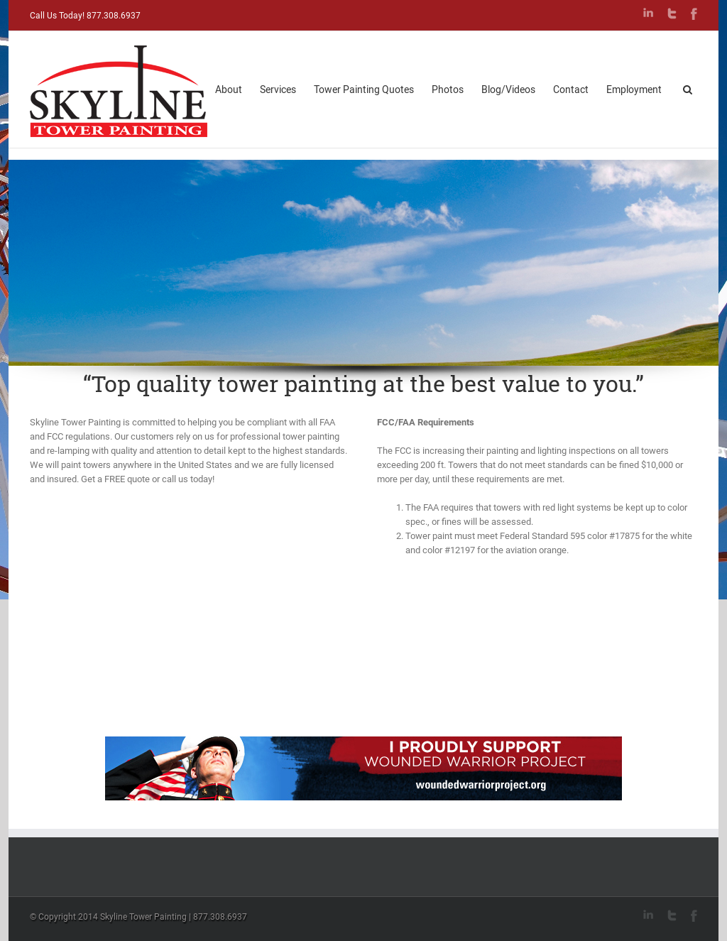 Skyline Tower Painting Competitors, Revenue and Employees
