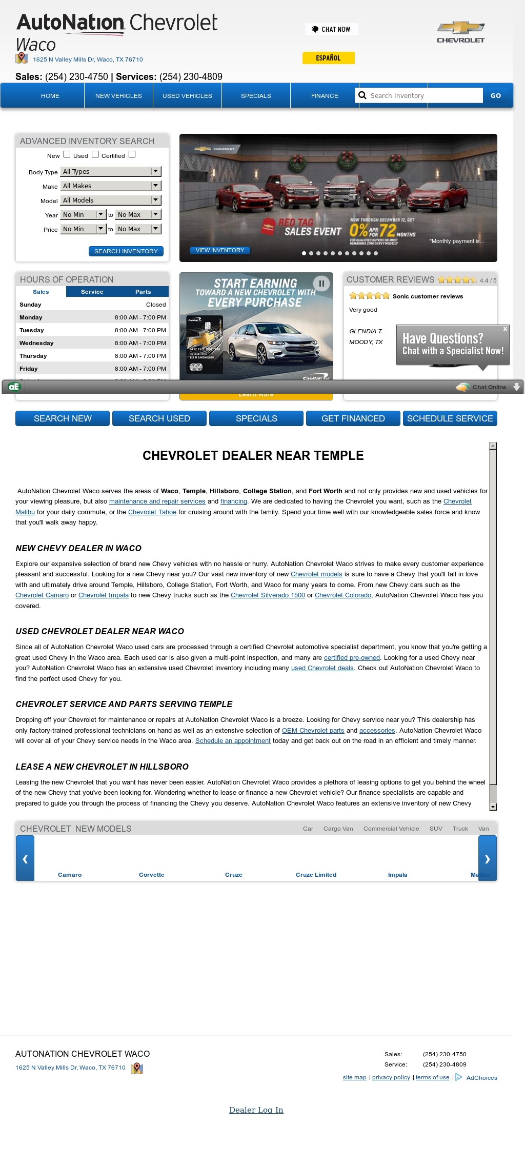 Allen Samuels Waco Chevrolet Competitors, Revenue And Employees   Owler  Company Profile