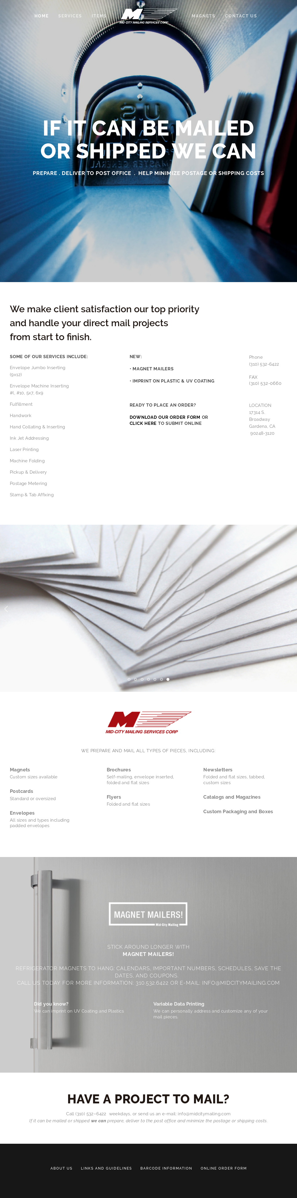 Mid-city Mailing Services Competitors, Revenue and Employees