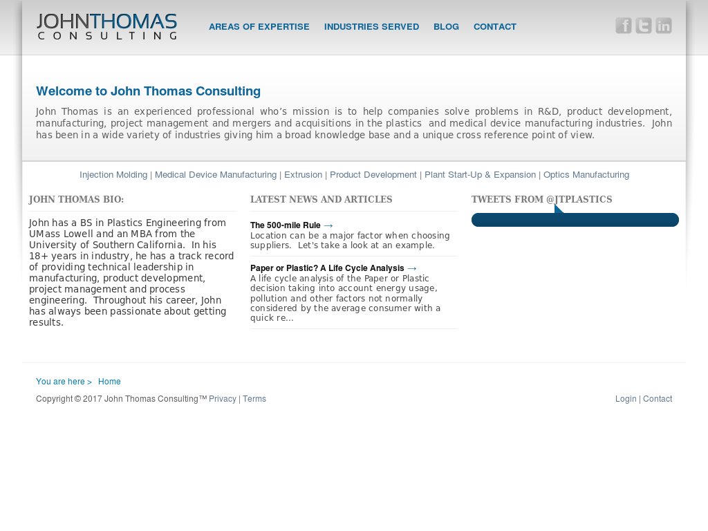 John Thomas Consulting Competitors, Revenue and Employees - Owler