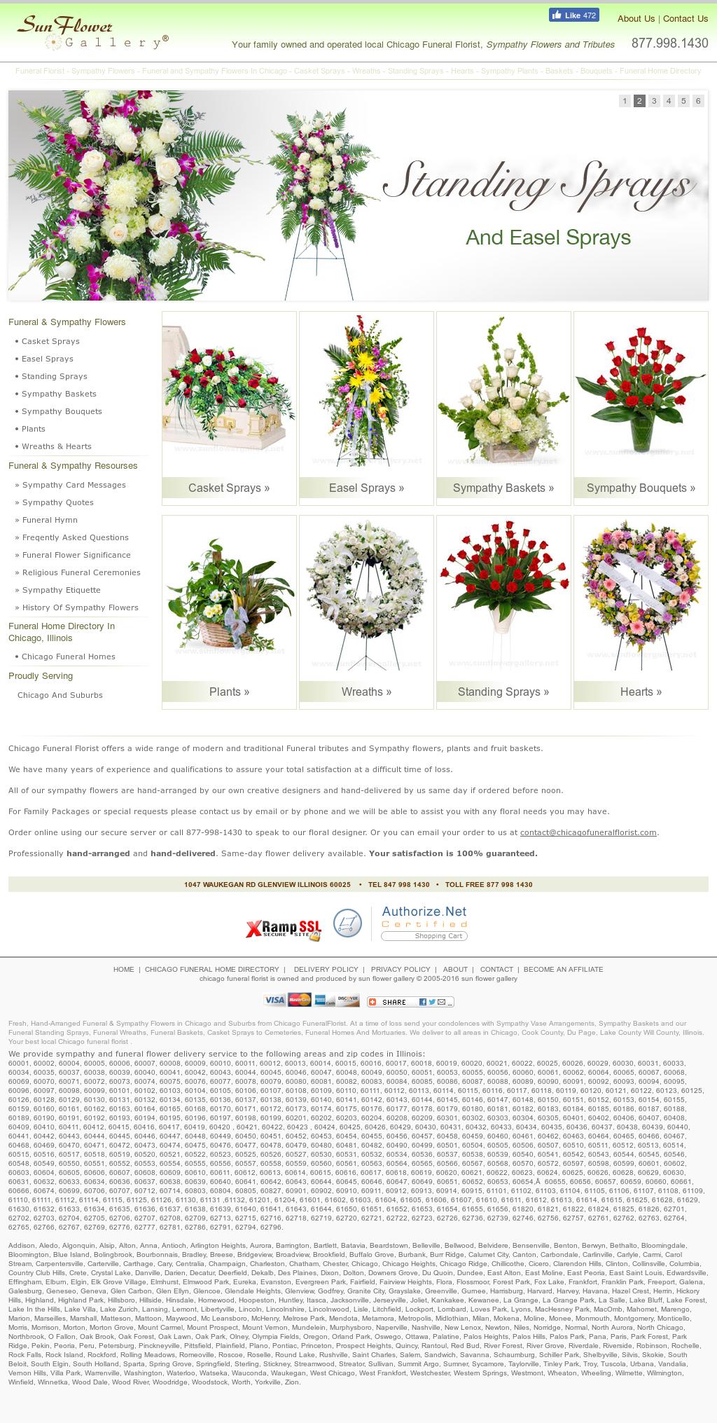 Chicago funeral florist competitors revenue and employees owler chicago funeral florist website history izmirmasajfo