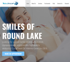 Smiles of round lake