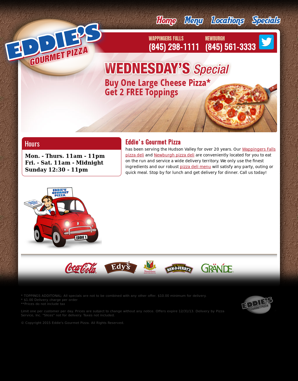 Eddies Gourmet Pizza Competitors Revenue And Employees