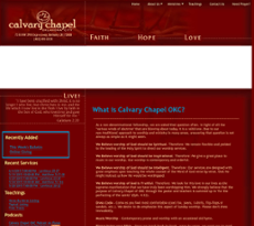 Calvary Chapel Okc Competitors, Revenue and Employees