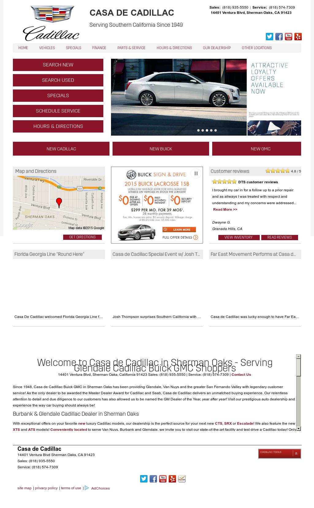 Casa De Cadillac Competitors Revenue And Employees Owler Company