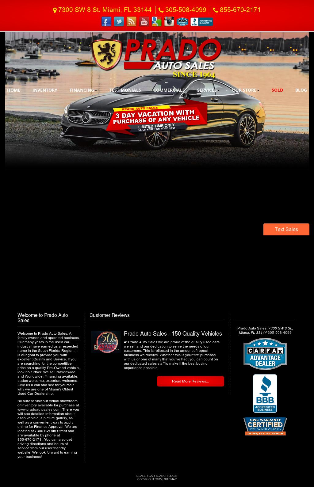 Prado Auto Sales >> Prado Auto Sales Competitors Revenue And Employees Owler