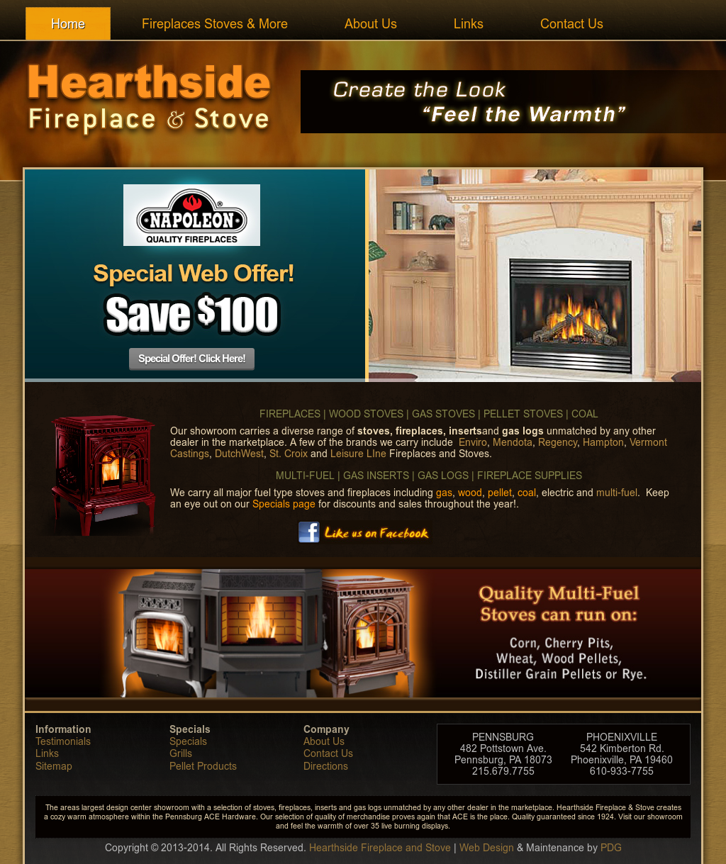 Hearthside Fireplace & Stove Competitors, Revenue and