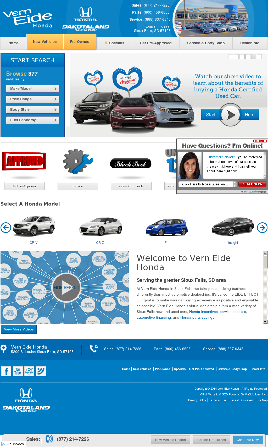 Vern Eide Honda Competitors, Revenue And Employees   Owler Company Profile