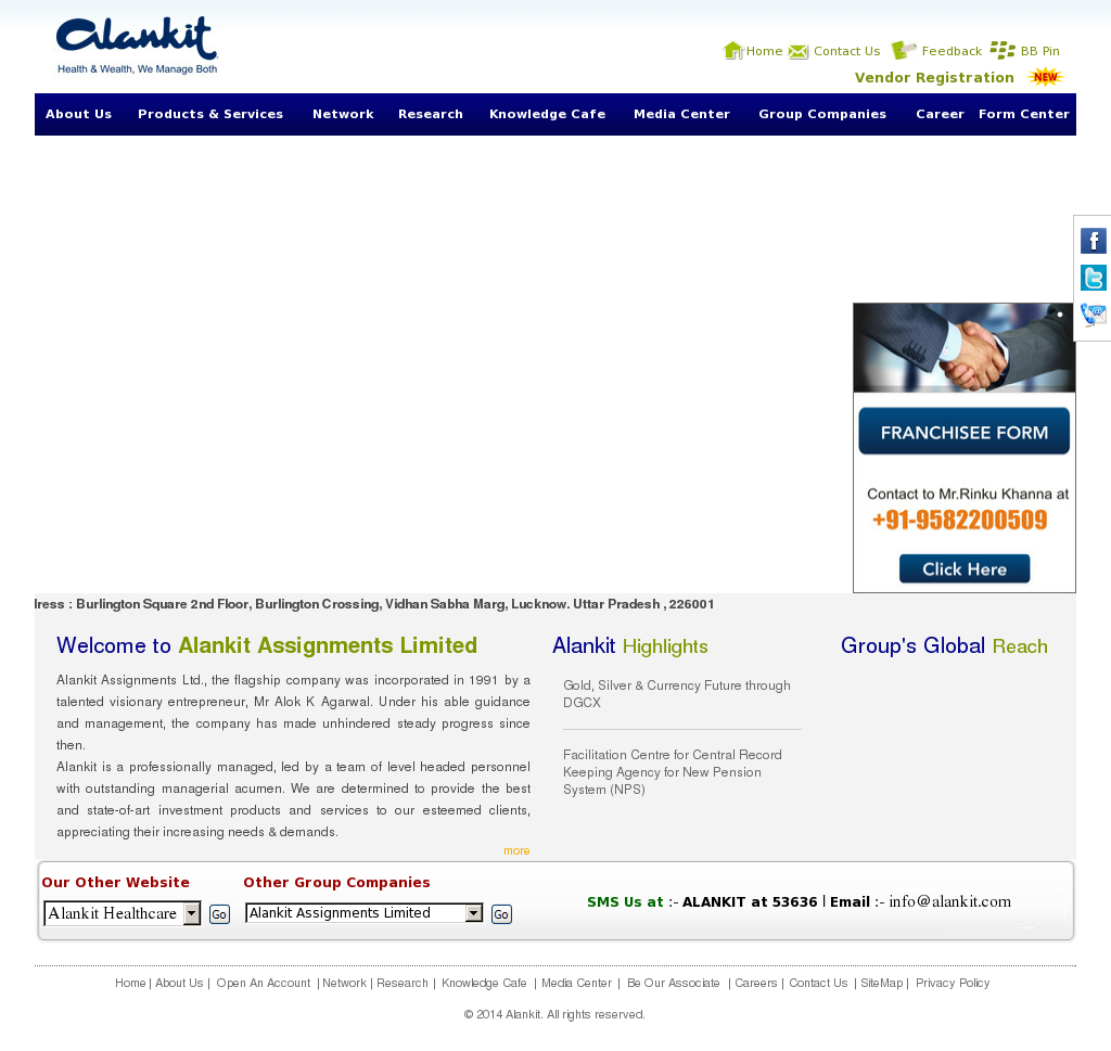 alankit assignments limited Alankit assignments ltd in lower parel west, mumbai-400013-get alankit assignments ltd in lower parel west address, phone numbers, user ratings, reviews, contact person and quotes instantly to your mobile on sulekhacom.