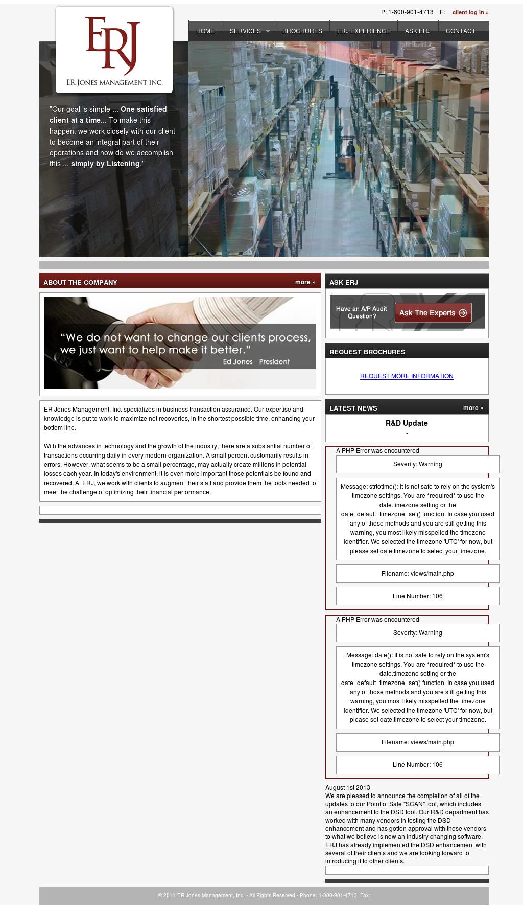 Ed Jones Login >> Er Jones Management Competitors Revenue And Employees Owler